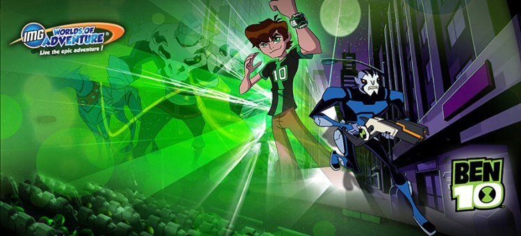 IMG Worlds of Adventure Reveals New Features of 5D Ben 10 Cinematic Attraction