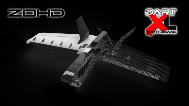 ZOHD Dart XL Extreme 1000mm Wingspan BEPP FPV Aircraft RC Airplane PNP