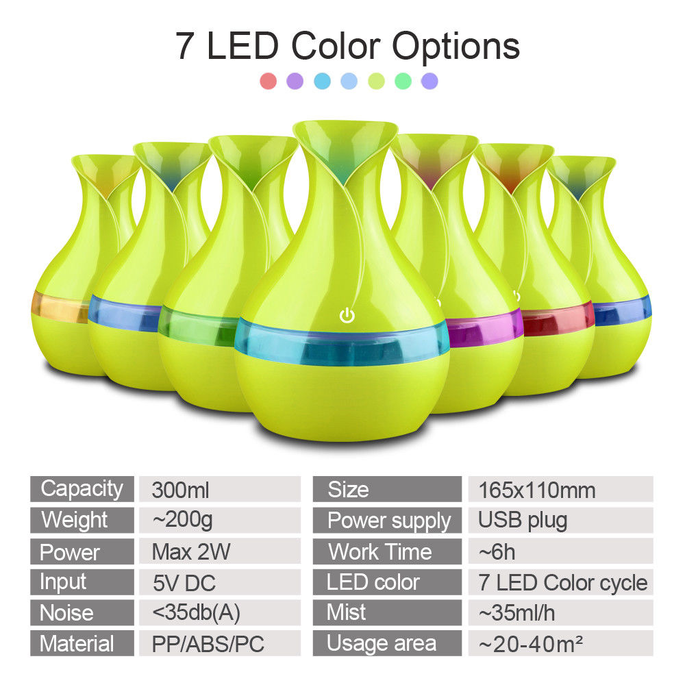 LED Air Humidifier Diffuser