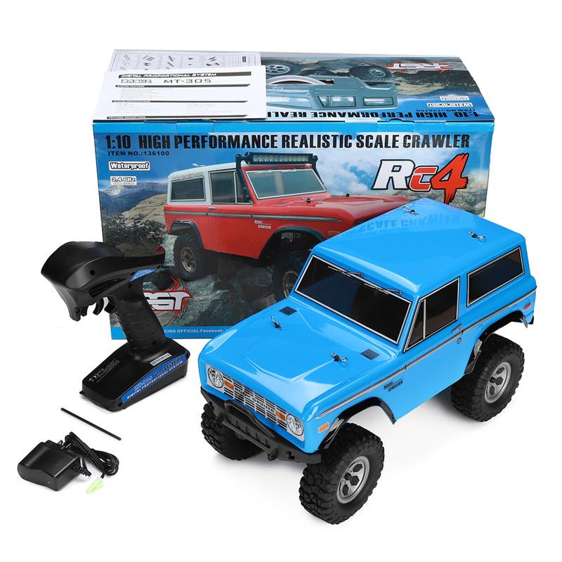 HSP RGT 136100 1/10 2.4G 4WD Racing RC Car Off-Road Rock Crawler Climbing High Speed Truck Toy