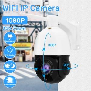 Όποιος θέλει καλή κάμερα εξωτερικού χώρου με ζουμ την προτείνω με κλειστά μάτια την έχω χρόνια | 1080P 30X Zoom WIFI 2.0MP PTZ IP Camera Pan/Tilt Speed Dome Camera Audio Waterproof Home Security Cameras – EU Plug