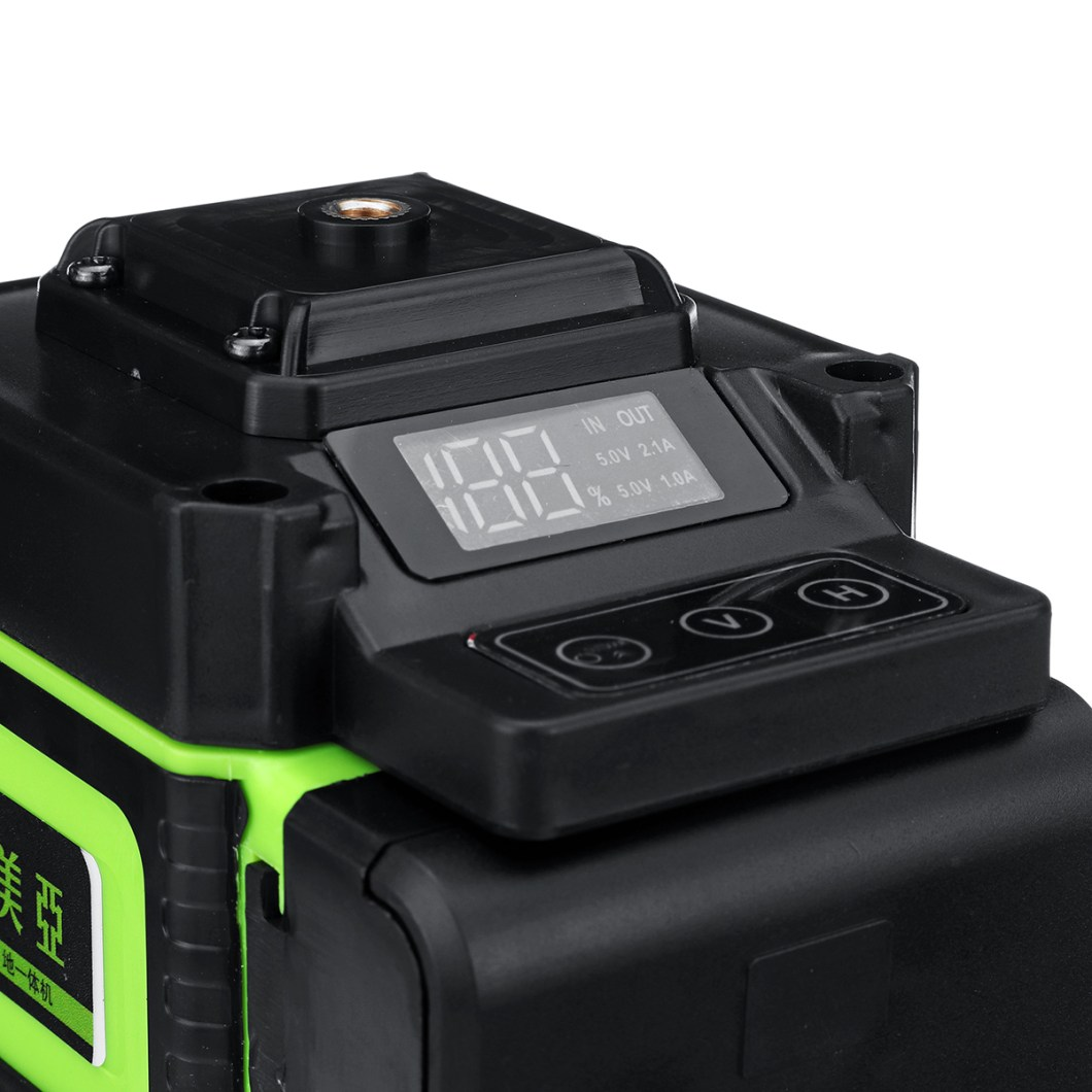 12 Lines Laser Level Measuring DevicesLine 360 Degree Rotary Horizontal And Vertical Cross Laser Level  with Base 36