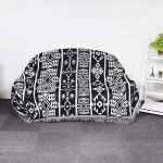 Geometric Bohemian Sofa Throw Rug Cover Couch Lounge Chair Blankets