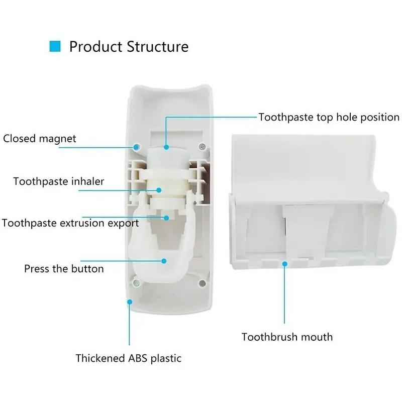Toothpaste Dispenser e720ad65 8beb 41fb 8873 014cc0434c4f.jpg   Online In Pakistan