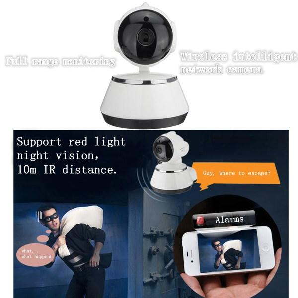 720 P Wireless Security Network CCTV IP Camera Night Vision WIFI Web Cam 16