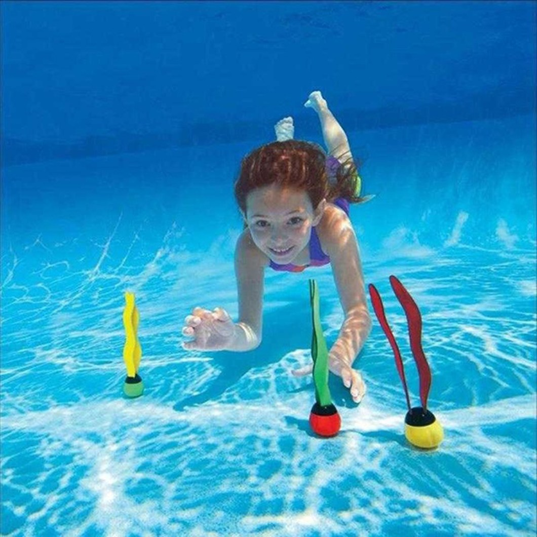 19PCS Swimming Pool Underwater Diving Toys Water Play Toys for Kids 13