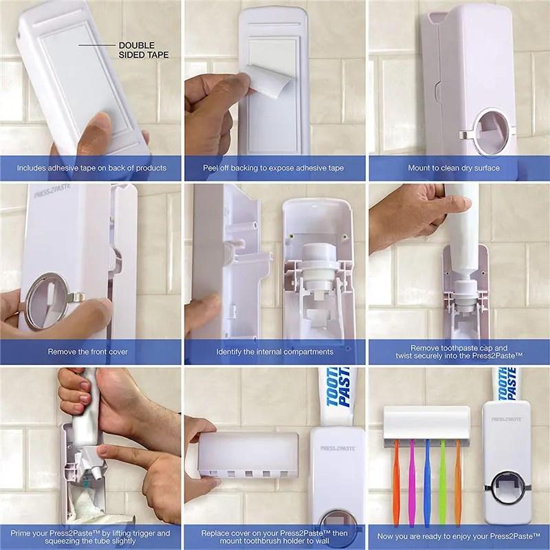 Toothpaste Dispenser e9f00e66 2011 4a85 90a6 56bcd1d9639a.jpg   Online In Pakistan