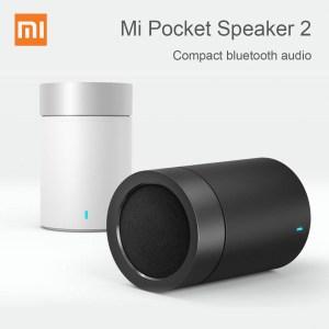 Original Xiaomi Mi Pocket Speaker 2 Portable Wireless bluetooth Speaker Global Version Music Soundbar Subwoofer with Mic