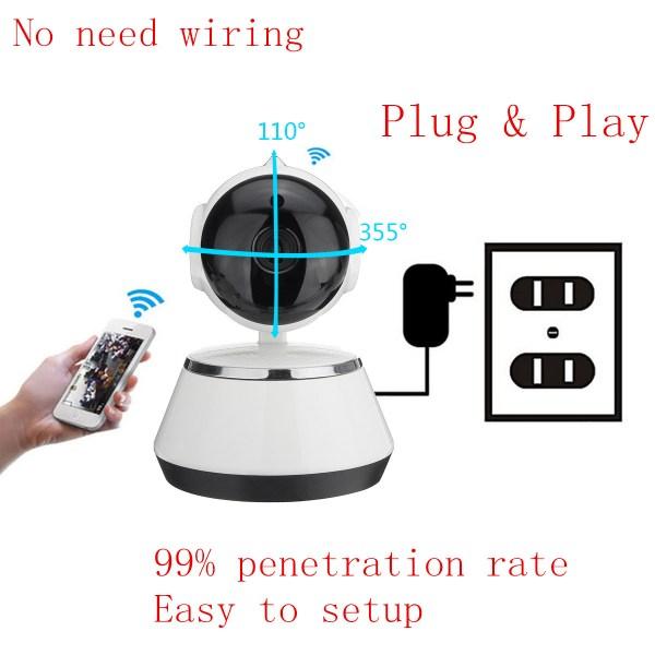 720 P Wireless Security Network CCTV IP Camera Night Vision WIFI Web Cam 11