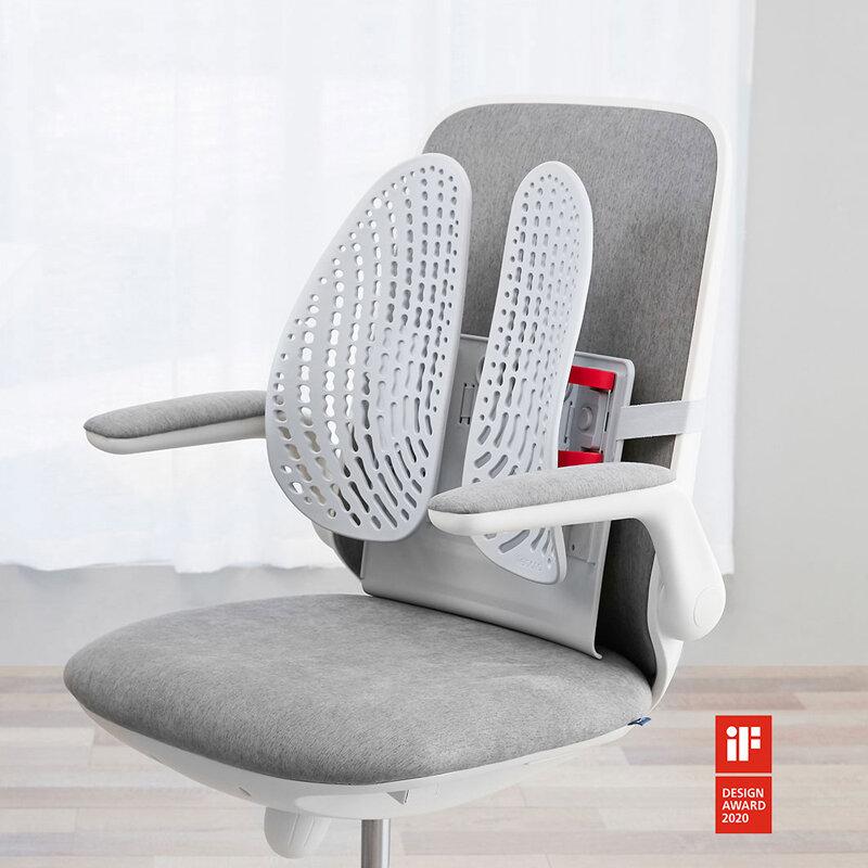 LERAVAN LB-YK002-MGV Ergonomic Adjustable Backrest Waist Correction Posture Humpback Car Cushion Shaping Backrest From Xiaomi Youpin