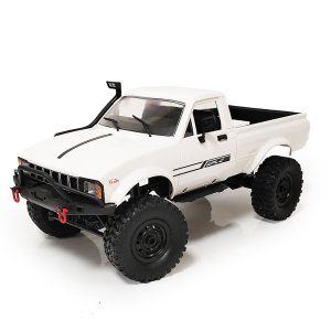 WPL C24 1 or 16 2.4G 4WD Crawler Truck RC Car Full Proportional Control RTR