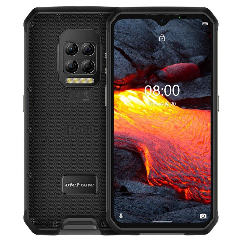Ulefone Armor 9E IP68 IP69K Waterproof 6.3 inch 8GB 128GB 64MP Quad Camera NFC 6600mAh Helio P90 Octa Core 4G Rugged Smartphone COD