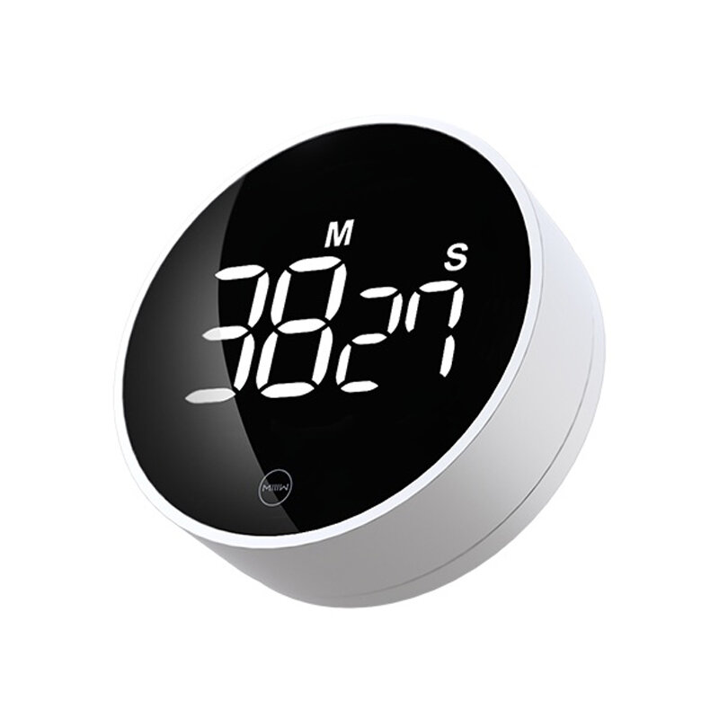 MIIIW NK5260 Rotating Timer LED Display Two Gear Brightness Three Gear Sound Volume Magnetic Design