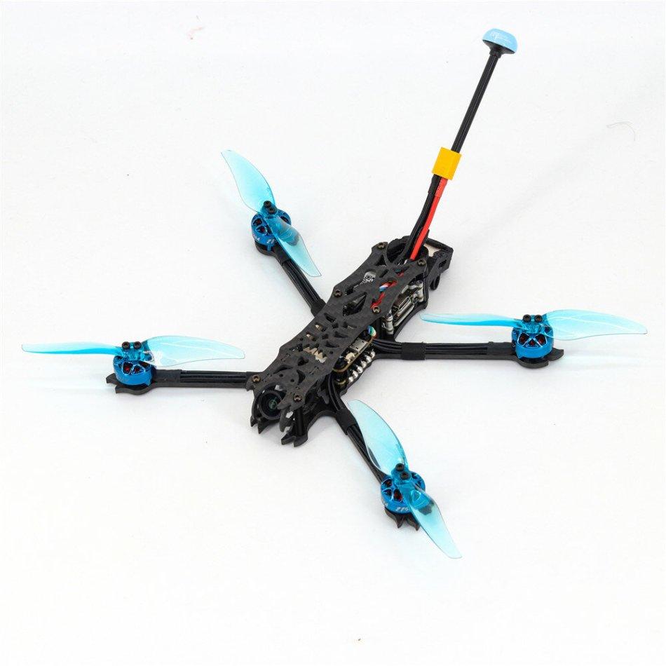"Eachine SHADOW FIEND LR 4S 180mm 4"" Stretch X Micro Long Range RC Drone BNF-DJI with VISTA KIT/Nebula Nano F405 20A 4IN1 ESC 1404 2750KV Motor"