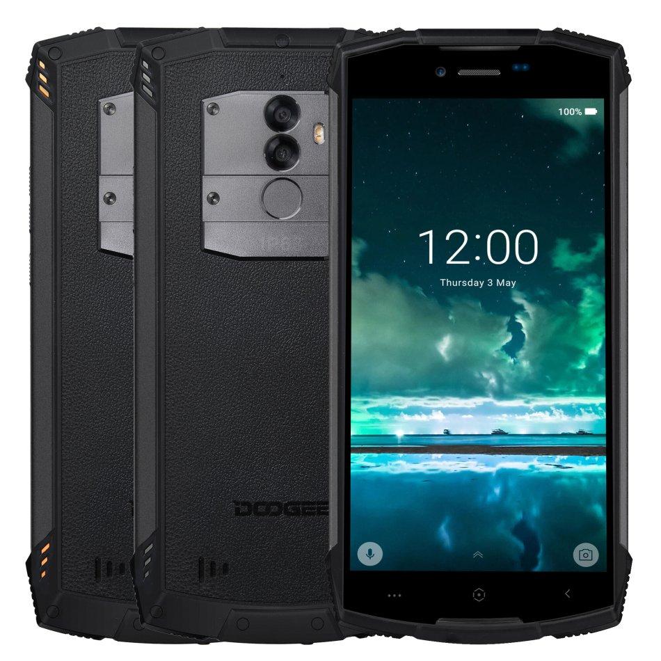 DOOGEE S55 5.5 inch IP68 Waterproof Android 8.0 4GB RAM 64GB ROM MTK6750T Octa Core 5500mAh 4G Smartphone