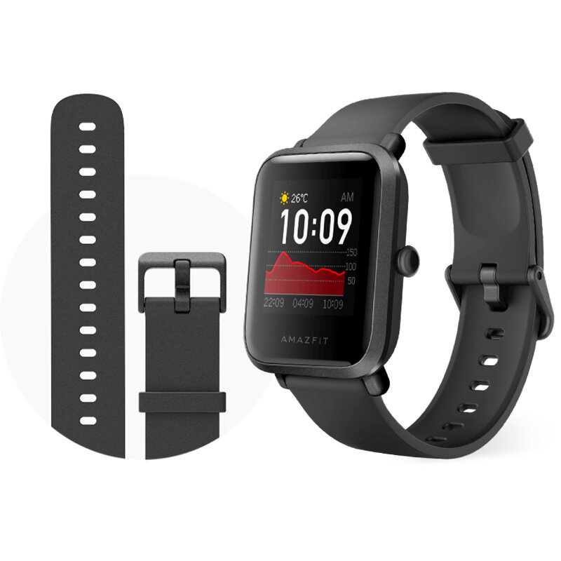 Amazfit Bip S GPS Built-in Wristband 40 Days Standby Lightweight Fitness Tracker 5ATM Smart Watch from xiaomi Eco-System