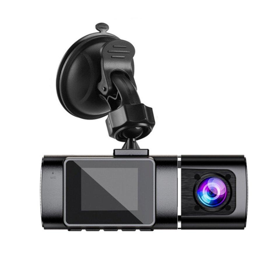 J02C 1.5 Inch Car Dash Cam Full HD 1080P 720P Dual Lens Night Vision Video Camera GPS Driving Recorder DVR