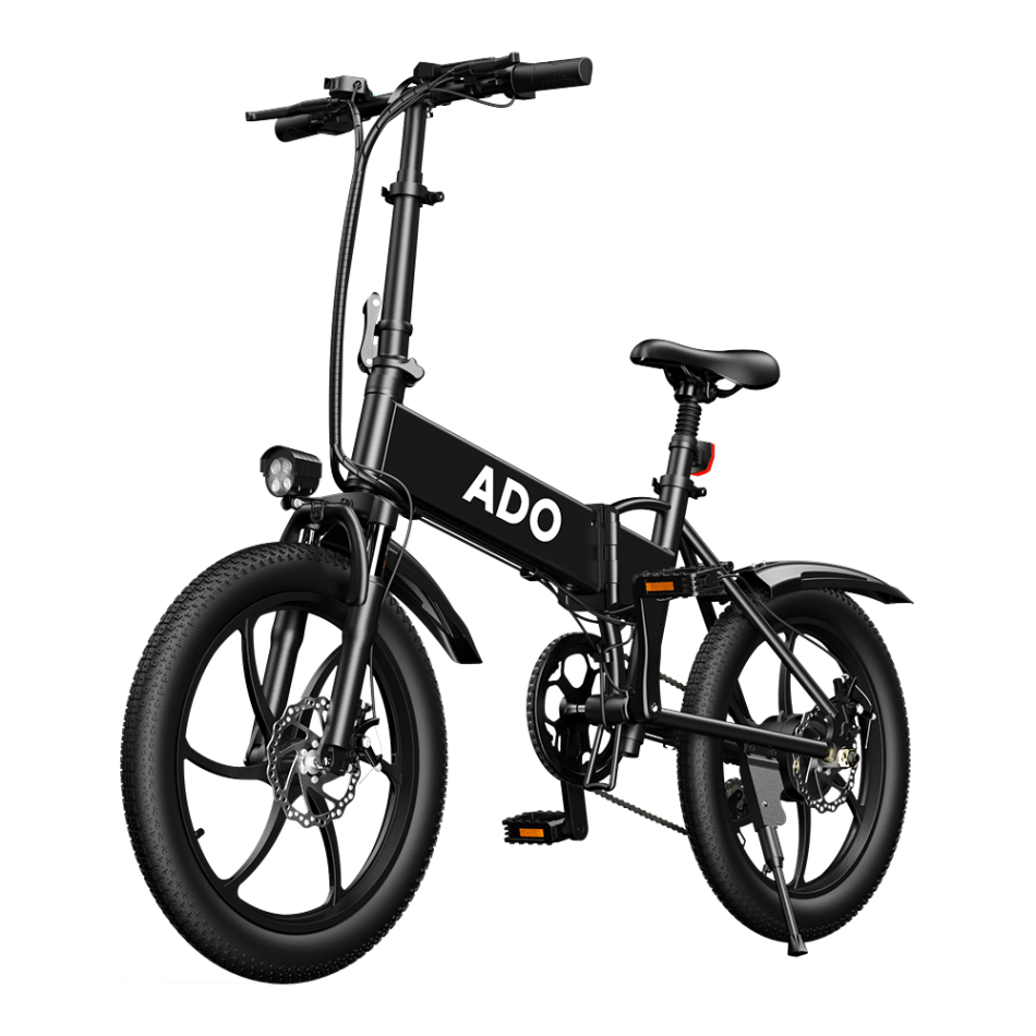 [UK DIRECT] ADO A20 Up To 350W 36V 10.4Ah 20 inch Electric Bike 25km/h Max Speed 80Km Mileage 120Kg Max Load Large Frame Releasable Max Speed Electric Bicycle