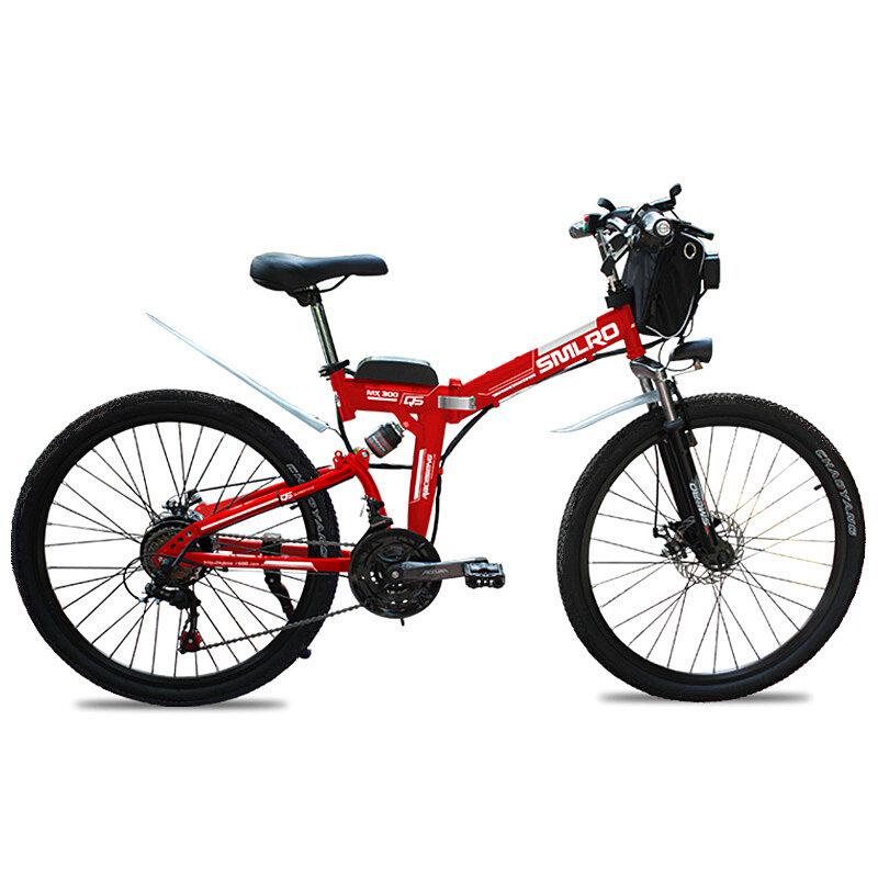 SMLRO MX300 48V 13Ah 500W 26in Electric Bike Bicycle 35km/h Max Speed 80km Max Range IP54 Waterproof E Bike