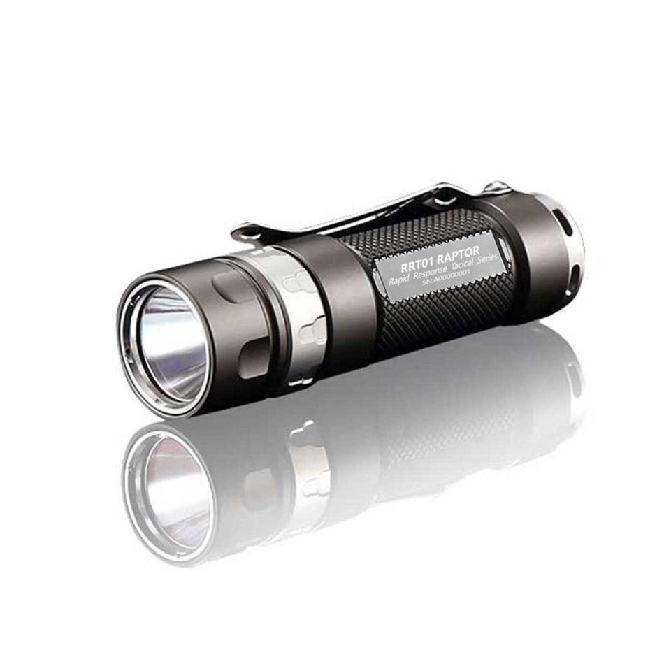 JETBeam RRT01 950LM XPL/Nichia 219C 3-Modes Tactical Flashlight IPX8 220M Long-range LED Torch + Extension Tube