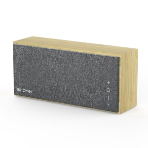 Στα €25.55 από αποθήκη Τσεχίας | BlitzWolf® BW-HA1 Bamboo bluetooth Speaker with Bamboo Material, Minimalism Style, Treble, Tenor, Bass Balance and Long Working Time