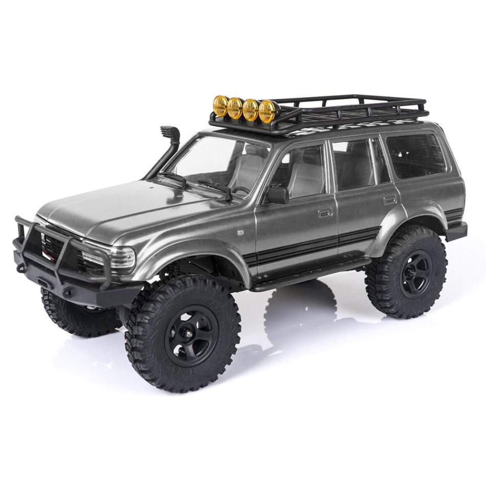 Eachine FMS 1/18 2.4G Land Cruiser 80 For TOYOTA Partly Waterproof Crawler Off Road RC Car Vehicle Models RTR Remote Control Car