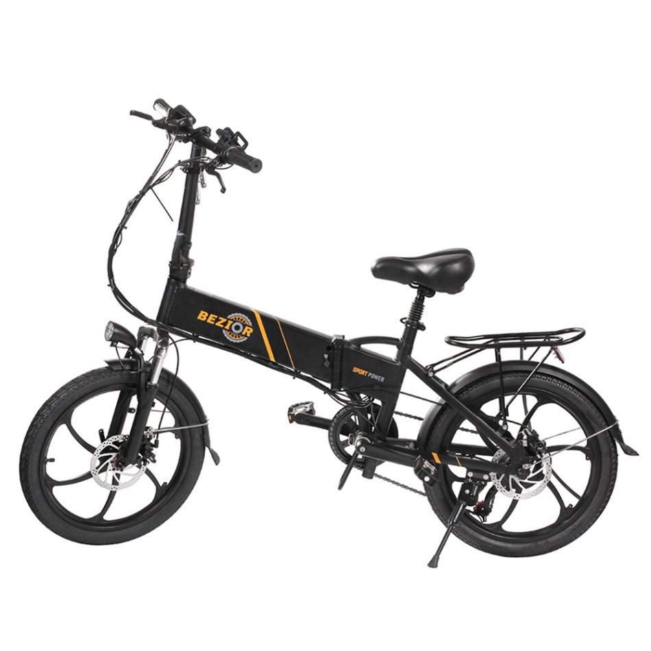 [EU DIRECT] Bezior M20 10.4Ah 48V 350W Folding Moped Electric Bicycle 20inch 35Km/h Top Speed 40km Mileage Range Max Load 120kg