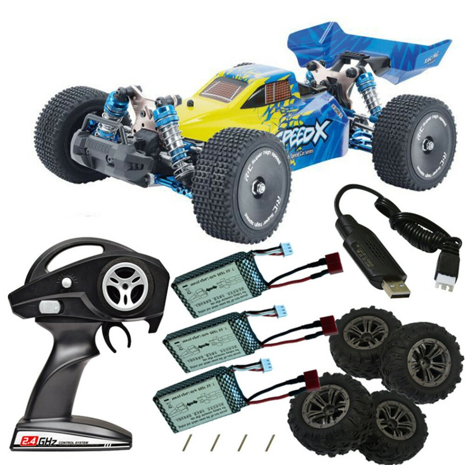 XLF F17 Several Battery Tires RTR 1/14 2.4G 4WD 60km/h Brushless Upgraded Proportional RC Car Vehicles Models