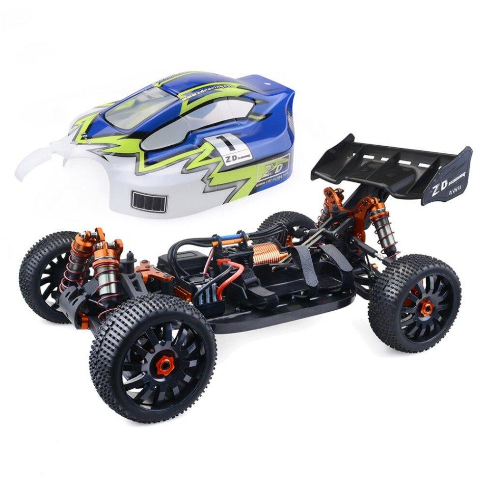 ZD Racing 9020-V3 1/8 4WD Brushless Buggy 120A ESC 4274 Brushless Motor RC Car