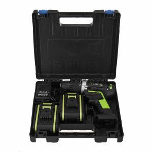 Στα 33€ με 2 μπαταρίες από Τσέχικη αποθήκη | 48V Electric Power Cordless Drill Screwdriver Woodworking Tool with 1/2pcs Rechargeable Batteries – Green Two Batteries