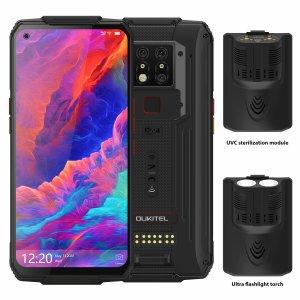 Πραγματικό ΚΤΗΝΟΣ και με πολλά έξτρα | OUKITEL WP7 Super Bundle Global Bands IP68 Waterproof 6.53 inch FHD+ NFC 8000mAh 48MP Triple Camera Android 9.0 8GB 128GB Helio P90 4G Smartphone