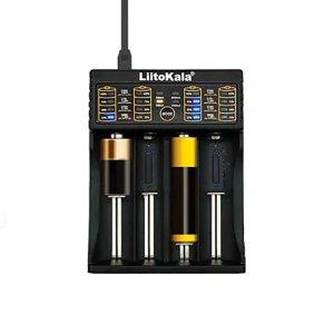 Στα €8.11 από αποθήκη Κίνας | Liitokala Lii 402 Micro USB DC 5V 4Slots 18650 or 26650 or 16340 or 14500 Battery Charger