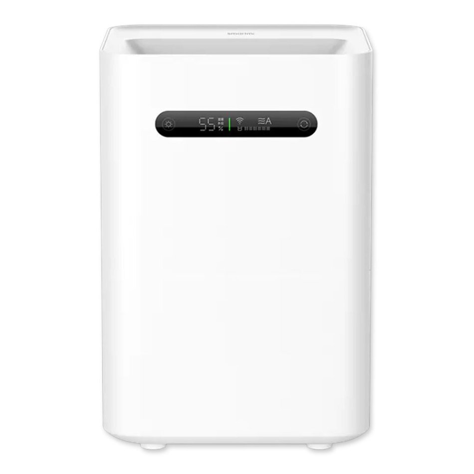 New Smartmi Evaporation Air Humidifier 2 4L Large Capacity 99% Antibacterial Smart Screen Display Mi Home APP Control