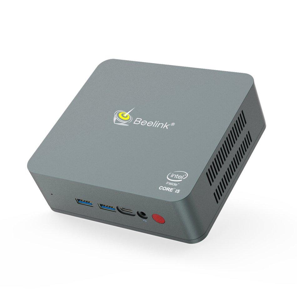 Beelink U57 Intel Core i5-5257U 2.7GHz 8GB 256GB SSD 1000M LAN 5.8G WIFI bluetooth 4.0 USB3.0 Mini PC Support Windows 10
