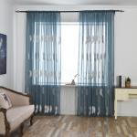 3 2 1 5 1m Embroidered Sheer Curtains For Living Room Feather Modern Design Bedroom Elegant Yarn Curtains Voile Sale Banggood Com