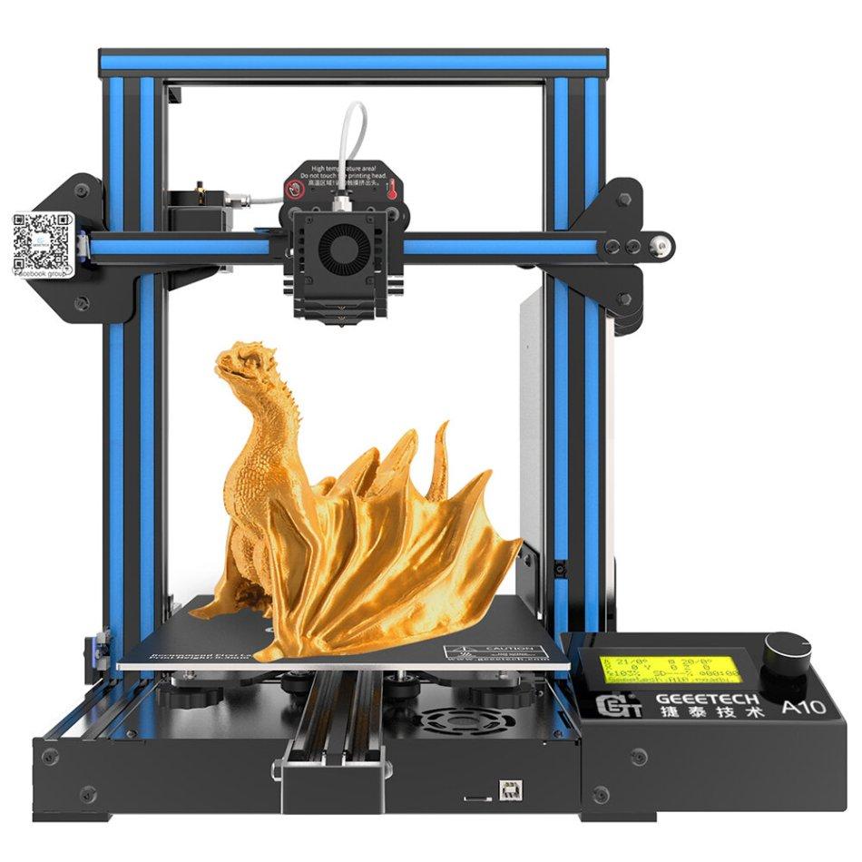Geeetech® A10 Aluminum Prusa I3 3D Printer