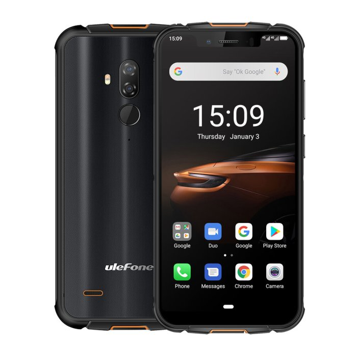 Ulefone Armor 5S IP68 IP69K Waterproof 5.85 inch 4GB 64GB NFC 5000mAh Wireless Charge MT6763 Octa Core 4G SmartphoneSmartphonesfromMobile Phones & Accessorieson banggood.com