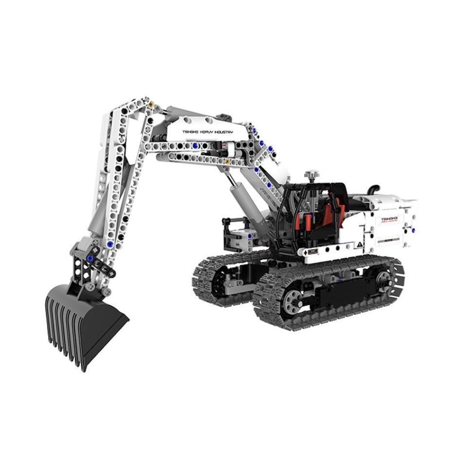 XIAOMI DIY Assembled Engineering Hydraulic Excavator Hook Machine Blocks Model Toys