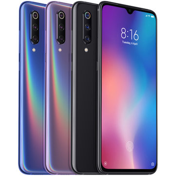 Xiaomi Mi9 Mi 9 6.39 inch 48MP Triple Rear Camera 20W Wireless Charge NFC 6GB 128GB Snapdragon 855 Octa core 4G Smartphone