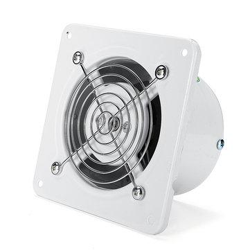 4 extractor exhaust fan ventilator 25w wall window for toilet bathroom kitchen