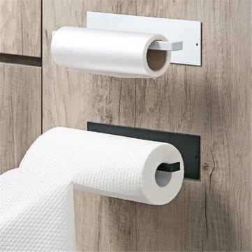 under cabinet paper roll rack shelf towel holder stand hanger organizer tool