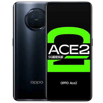 OPPO Ace2 5G CN Version 6.55 inch FHD+ 90Hz Refresh Rate NFC Android 10 65W SuperVOOC 8GB 256GB Snapdragon 865 Gaming Smartphone Smartphones from Mobile Phones & Accessories on banggood.com