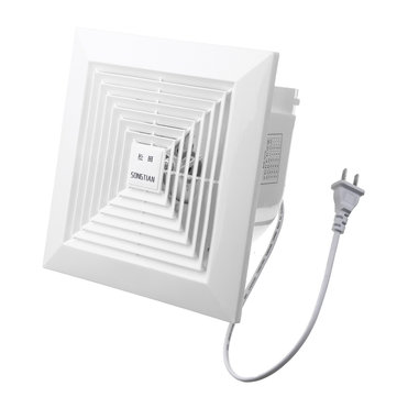 khg 12b 31w 6 inch air exhaust fan blower ceiling wall mount ventilation exhaust fan us plug