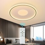 Αποθήκη Τσεχίας   DIGOO DG-MD1805 36W 40CM LED Ceiling Light Concentric Circles Dimmable Ceiling Lamp w/Remote AC185-265V