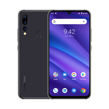£96.38 25% UMIDIGI A5 Pro Global Version 6.3 Inch FHD+ Waterdro Display Android 9.0 4150mAh Triple Rear Cameras 4GB 32GB Helio P23 4G Smartphone Smartphones from Mobile Phones & Accessories on banggood.com