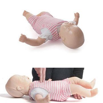 CPR Reborn Doll Resusci Infant Training Manikin Model With Case 6 Airways Set