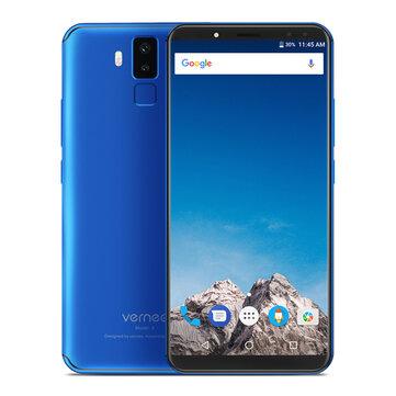 Vernee X1 5.99 Inch Face Unlock 6200mAh 9V/2A 6GB RAM 64GB ROM MT6763 4G Smartphone