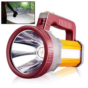 Ευρωπαϊκή αποθήκη   3000LM USB Rechargeable Waterproof Portable LED Spotlight Searchlight