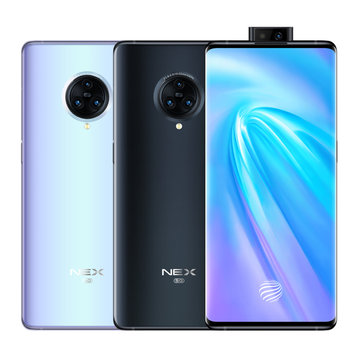 VIVO NEX 3 5G Version 6.89 inch Super AMOLED 64MP Triple Rear Camera NFC 12GB 256GB Snapdragon 855 Plus Octa core 5G Smartphone Smartphones from Mobile Phones & Accessories on banggood.com