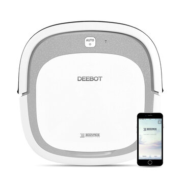 ECOVACS DEEBOT SLIM2 Robot Vacuum Cleaner 3 in 1 Sweeping Mop and Vacuum, 500PaSuction 2600mAh with APP Control